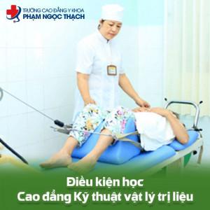 Điều kiện xét tuyển Cao đẳng Vật lý trị liệu Đà Nẵng năm 2019